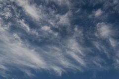 Fluffy clouds. Royalty Free Stock Photo