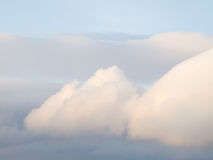 Fluffy clouds on the sky. Stock Image