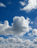 Fluffy Clouds Royalty Free Stock Images