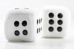 Fluffy Dice Stock Photo