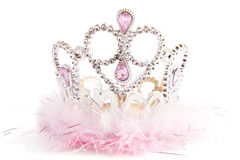 Fluffy fancy crown Royalty Free Stock Images
