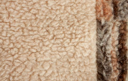 Fluffy fleece background Stock Photos