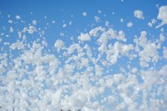 Fluffy foam Royalty Free Stock Photos