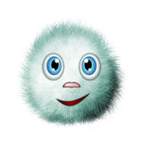 Fluffy, funny creature Stock Images