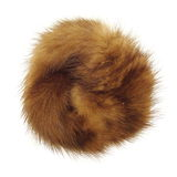Fluffy, furry dot. Round fluffy and furry dot like object Royalty Free Stock Photography