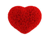 Fluffy heart Royalty Free Stock Photos