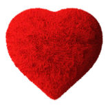 Fluffy Heart Royalty Free Stock Image