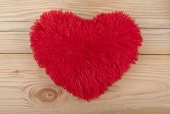 Fluffy heart. Royalty Free Stock Photo