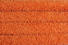 Fluffy orange towels Royalty Free Stock Photography