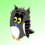 Fluffy owl Royalty Free Stock Photos