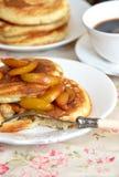 Fluffy pancakes Royalty Free Stock Photo