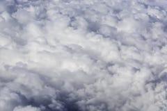 Fluffy Rain Clouds Stock Photos