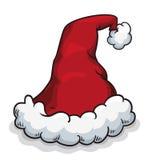Fluffy Santa's Hat , Vector Illustration stock photos