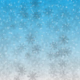 Fluffy snow Royalty Free Stock Image
