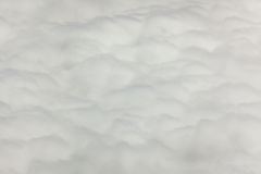Fluffy and soft clouds seen from above Royalty Free Stock Photography