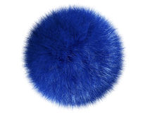 Fluffy sphere. On a white background Stock Photography