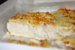 Fluffy sweet coconut pie buko Royalty Free Stock Photo