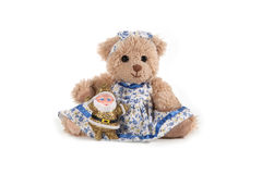 Fluffy teddy bear Stock Image
