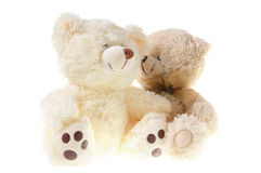 Fluffy teddy bears Royalty Free Stock Photo