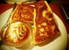 Fluffy toast. Stock Photography