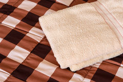 Fluffy towels Stock Images