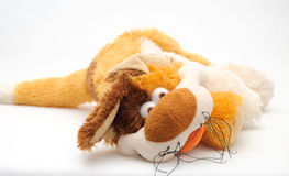 Fluffy toy 019 Royalty Free Stock Images