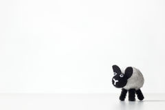 Fluffy toy sheep Royalty Free Stock Photos