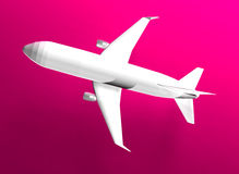 Flug 3d Lizenzfreie Stockfotografie