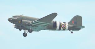 Flug-Dakota-Flugzeuge Stockfoto