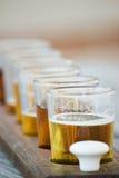 Flug des Bieres Stockfotos