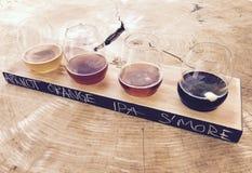 Flug des Handwerks-Bieres Lizenzfreie Stockbilder