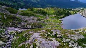 Flug in Tatry-Bergen nahe Zakopane stock video