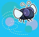 fluga stock illustrationer