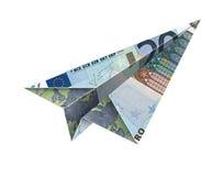 fluga för euro 20 Royaltyfri Foto