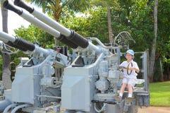 Flugabwehrgewehr stockfotos