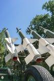 Flugabwehrraketen Stockfotografie