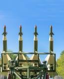 Flugabwehrraketen Stockbild