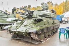 Flugabwehrraketesystem ZSU-23-4M4 Shilka-M4 Lizenzfreie Stockbilder