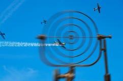 Flugabwehrverteidigung Lizenzfreies Stockfoto