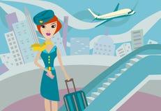 Flugbegleiter Stockbilder