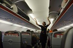Flugbegleiter Stockbild