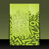 Flugblatt-oder Abdeckung-Auslegung Lizenzfreie Stockfotos