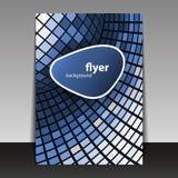 Flugblatt-oder Abdeckung-Auslegung Lizenzfreie Stockbilder