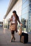 Fluggast Lizenzfreies Stockfoto