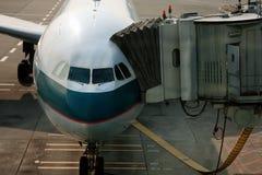 Fluggastgattermethode Stockbilder