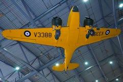 Fluggeschwindigkeit WIE 10 Oxford V3388 am Kaiserkriegsmuseum Duxford Stockbilder