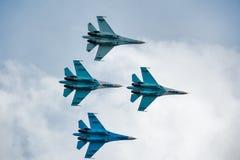 Fluggruppe Stockfoto
