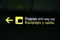 Flughafen lizenzfreie stockbilder