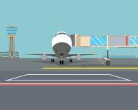 flughafen vektor abbildung