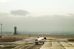 Flughafen-Aktivität Stockbild